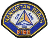 Abzeichen Fire Department Manhattan Beach