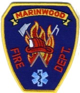 Abzeichen Fire Department Marinwood