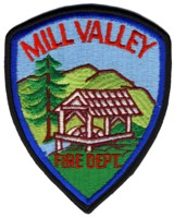Abzeichen Fire Department Mill Valley