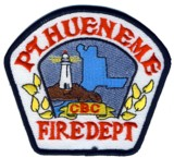 Abzeichen Fire Department Port Hueneme