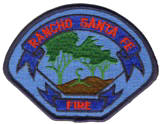 Abzeichen Fire Department Rancho Santa Fe
