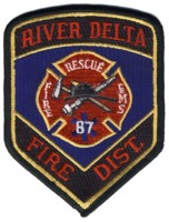 Abzeichen Fire District 87 / River Delta