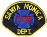 Abzeichen Fire Department Santa Monica