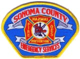 Abzeichen Fire and Emergency Services Sonoma County