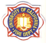 Abzeichen Fire Department University of California