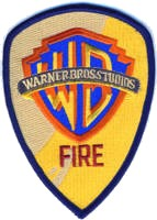Abzeichen Fire Department Warner Bros Studios