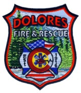 Abzeichen Fire and Rescue Dolores