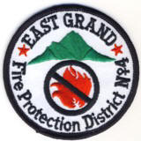 Abzeichen Fire Protection District No. 4 East Grand