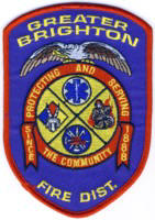 Abzeichen Fire Department Greater Brighton