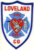 Abzeichen Fire Department Loveland
