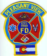 Abzeichen Fire Department Pleasant View