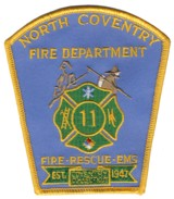 Abzeichen Fire Department North Coventry