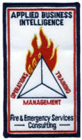 Abzeichen Fire & Emergency Services Applied Business Intelligence Group - Abteilung Consulting