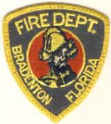 Abzeichen Fire Department Bradenton