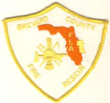 Abzeichen Fire and Rescue Brevard County