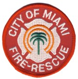 Abzeichen Fire and Rescue City of Miami
