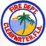 Abzeichen Fire Department Clearwater