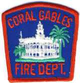 Abzeichen Fire Department Coral Gables