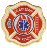 Abzeichen Fire and Rescue Delray Beach