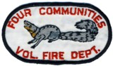 Abzeichen Volunteer Fire Department Four Communities