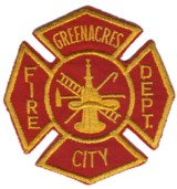 Abzeichen Fire Department Greenacres