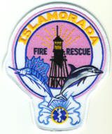 Abzeichen Fire and Rescue Islamorada