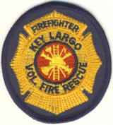 Abzeichen Volunteer Fire Department Key Largo