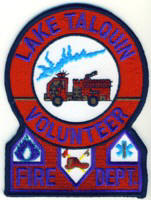 Abzeichen Volunteer Fire Department Lake Talquin