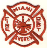 Abzeichen Fire Department Miami Shores