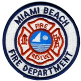 Abzeichen Fire Department Miami Beach