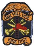 Abzeichen Fire District Oak Hill Volunteer