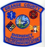 Abzeichen Emergency Management Orange County