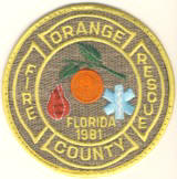 Abzeichen Fire Department Orange County