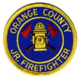 Abzeichen JR. Firefighters Orange County