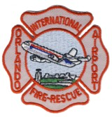 Abzeichen Fire & Rescue Orlando International Airport