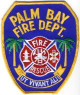 Abzeichen Fire Department Palm Bay