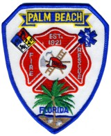 Abzeichen Fire & Rescue Palm Beach