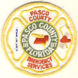 Abzeichen Emergency Service Pasco County