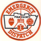 Abzeichen Emergency Dispatch Polk County