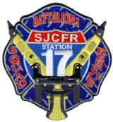 Abzeichen Fire and Rescue St. Johns County / Station 17