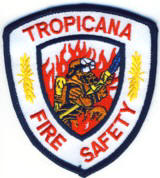 Abzeichen Fire Safety Tropicana