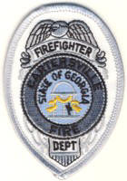 Abzeichen Fire Department Cartesville