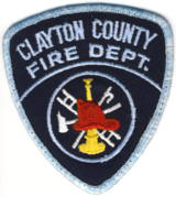Abzeichen Fire Department Clayton County