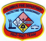 Abzeichen Fire Department Columbus