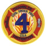 Abzeichen Fire Department DeKalb County / Company 4