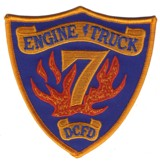 Abzeichen Fire Department DeKalb County / Company 7
