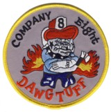 Abzeichen Fire Department DeKalb County / Company 8