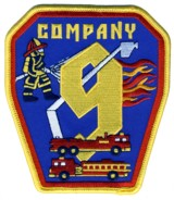 Abzeichen Fire Department DeKalb County / Company 9