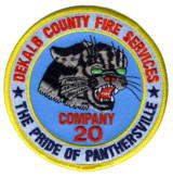 Abzeichen Fire Department DeKalb County / Company 20