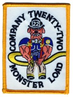 Abzeichen Fire Department DeKalb County / Company 22